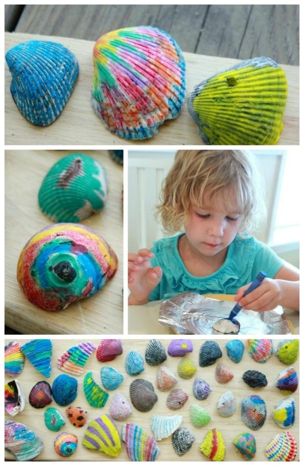 Ocean-Crafts-Melted-Crayon-Shells-smaller