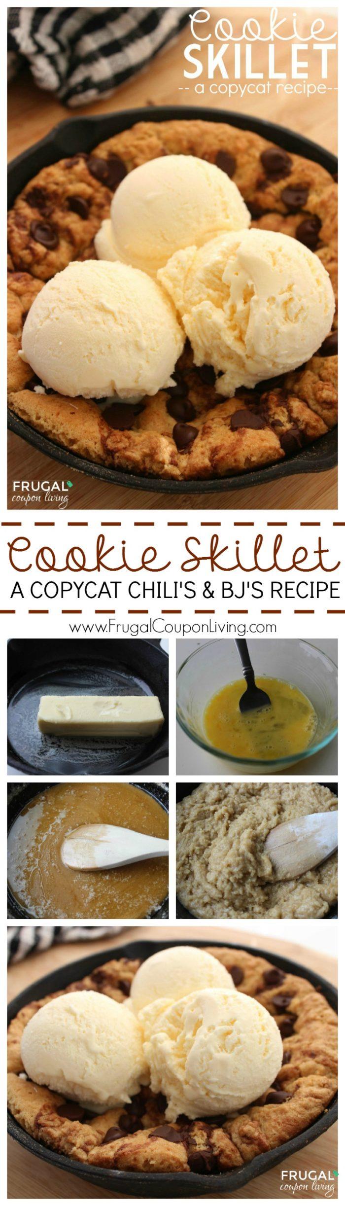 Copycat Chili's Cookie Skillet - AKA Pizookie