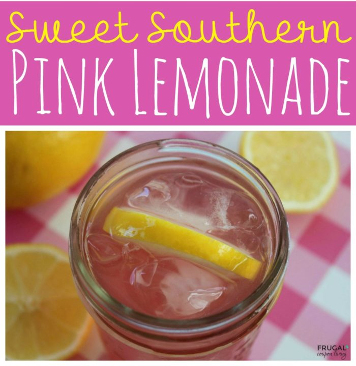 Sweet Southern Pink Lemonade