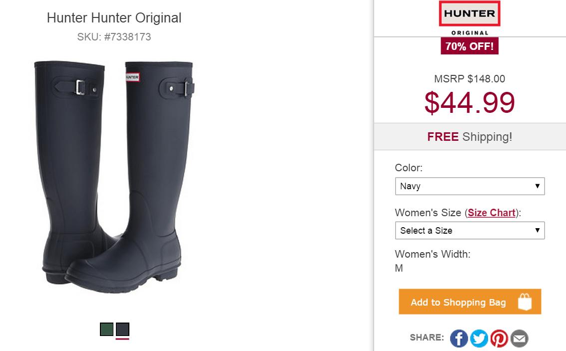 hunter-boots-blue