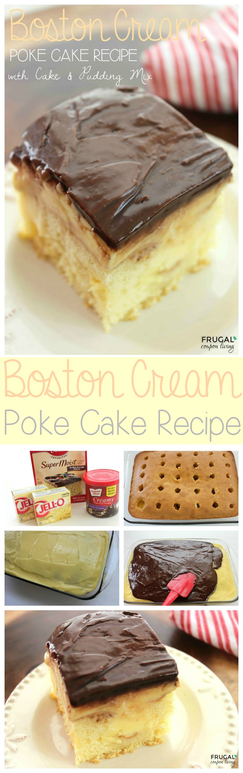 boston-cream-poke-cake-frugal-coupon-living-Collage