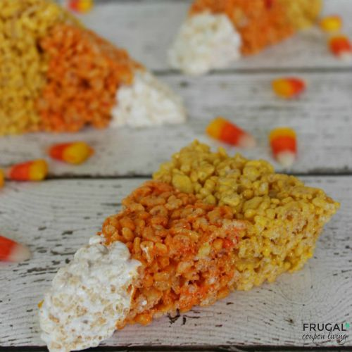 candy-corn-rice-krispie-treats-frugal-coupon-living-square