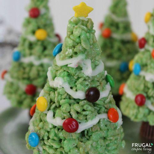 christmas-tree-krispie-treats-frugal-coupon-living-square
