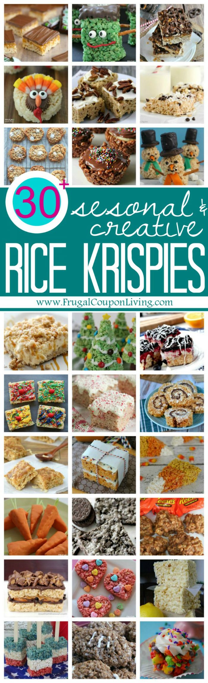 Rice Krispie Treats Recipes for all Seasons