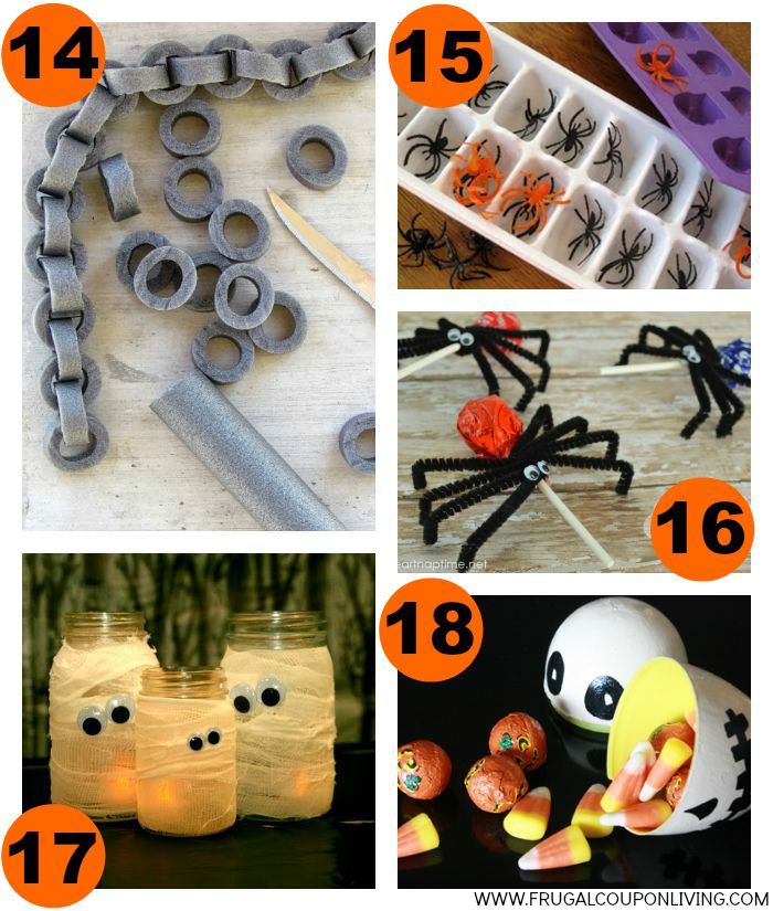 4-Halloween-Hacks-Tips-Collage-Frugal-Coupon-Living