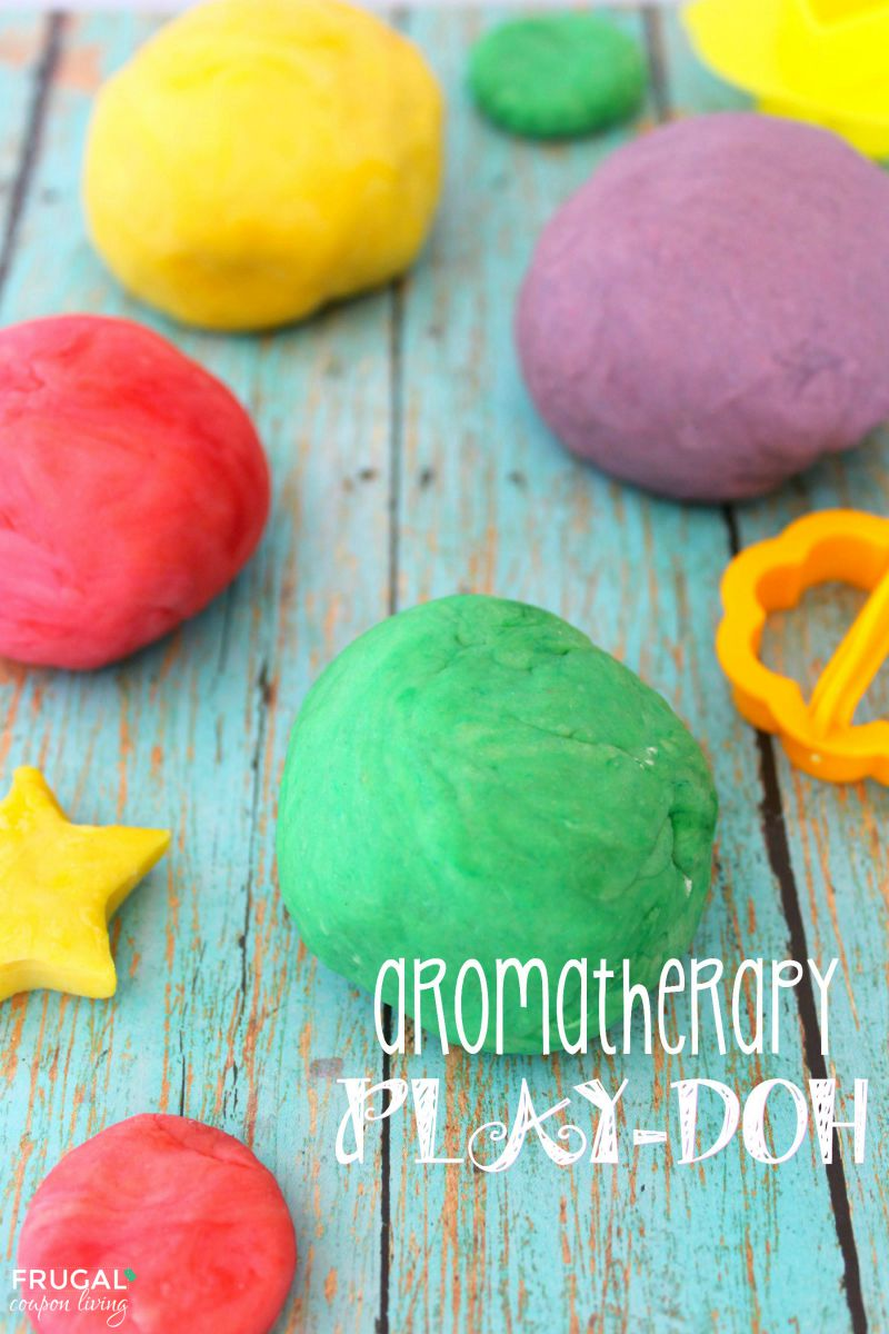 Aromatherapy Playdoh on Frugal Coupon Living Smaller