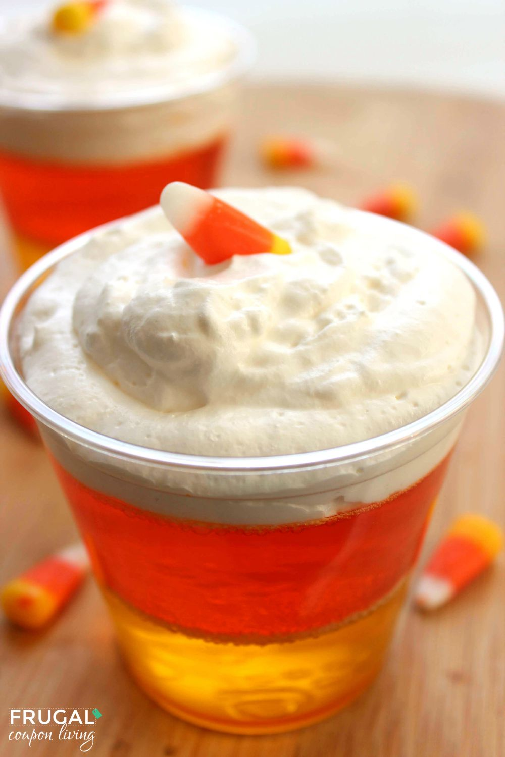 Candy Corn JELL-O on Frugal Coupon Living