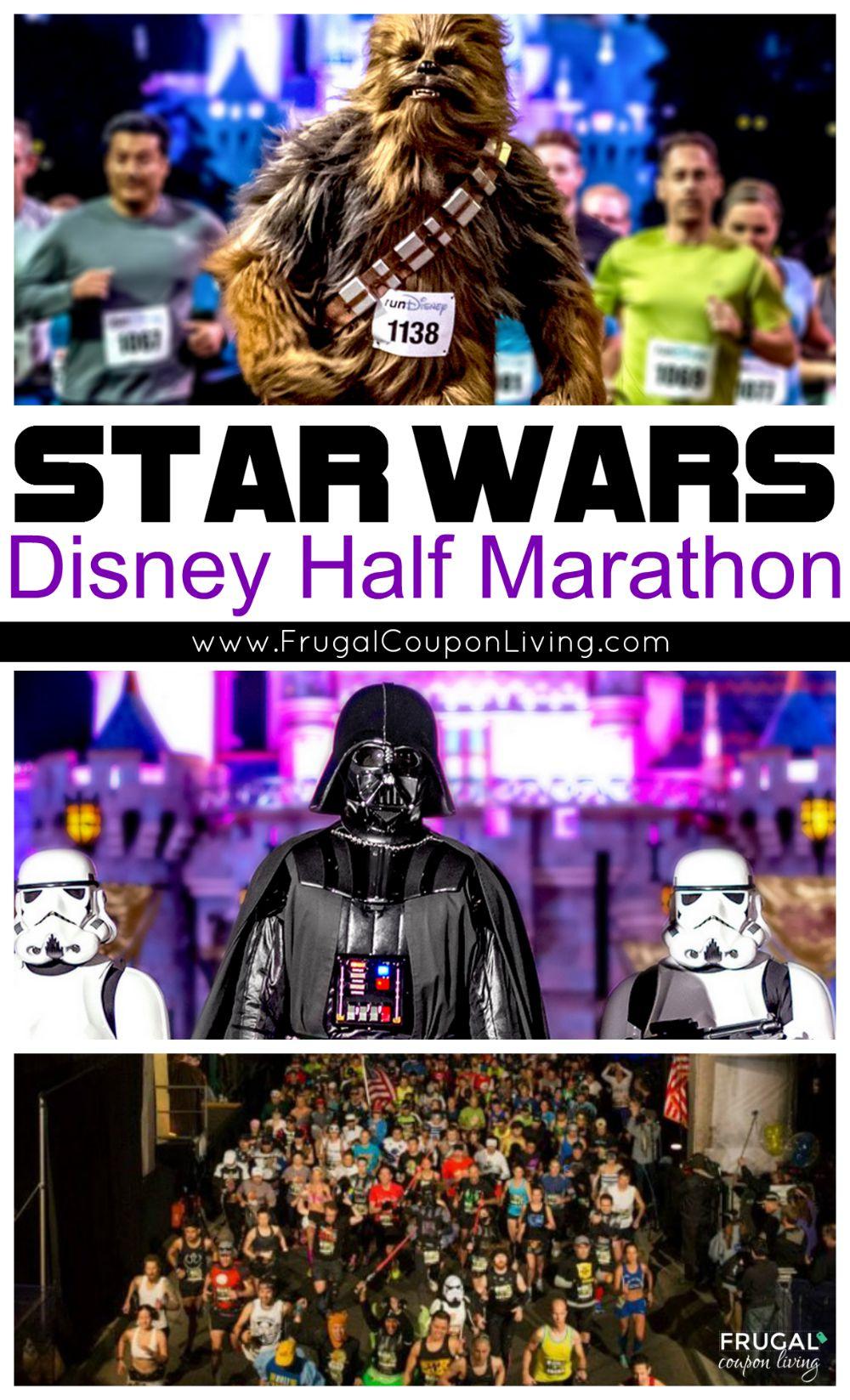 Disney Star Wars Half Marathon Frugal Coupon Living