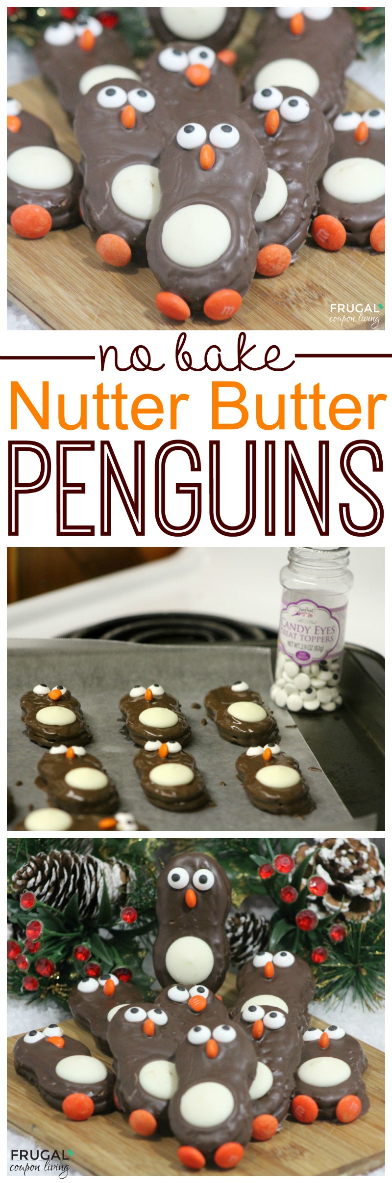 Nutter Butter Penguins Collage on Frugal Coupon Living