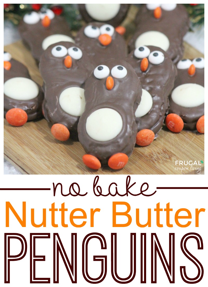 Nutter Butter Penguins on Frugal Coupon Living