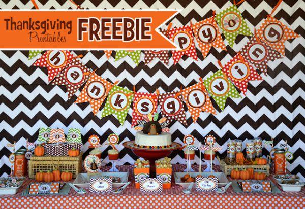 thanksgiving party freebie amanda smaller