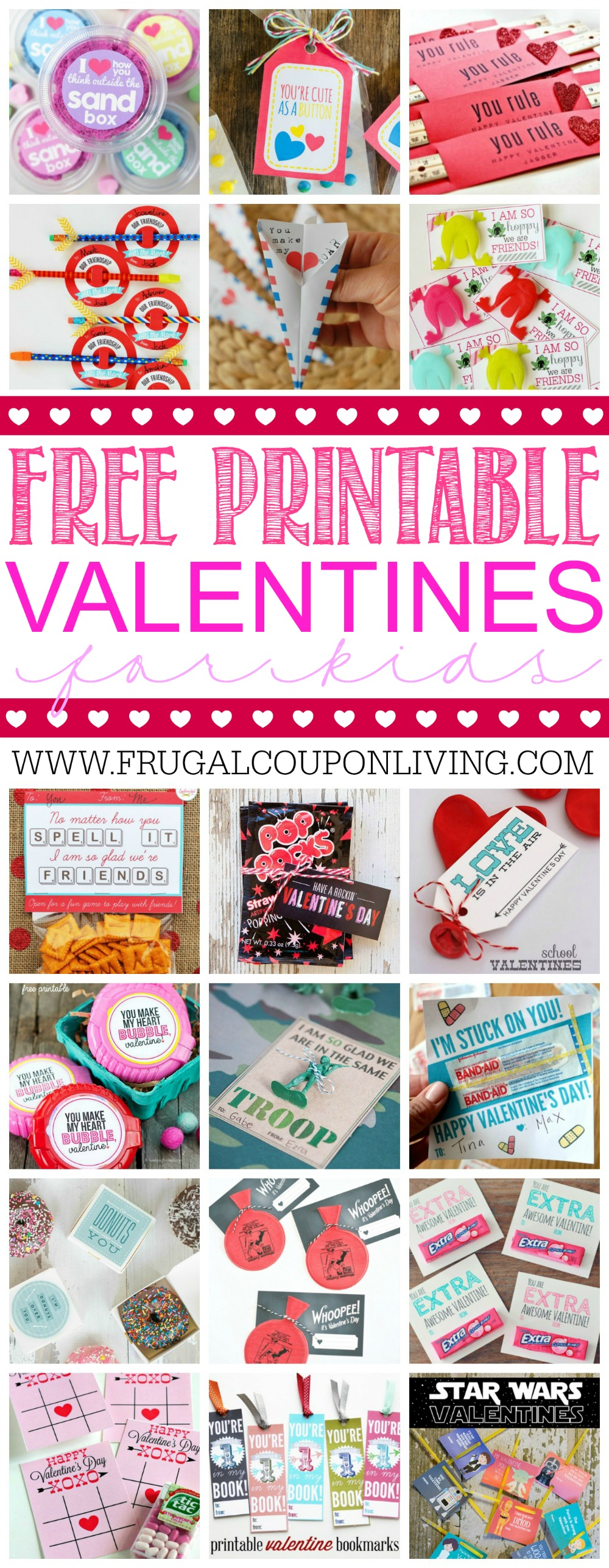 Printable-valentines-for-the-Kids-collage-frugal-coupon-living