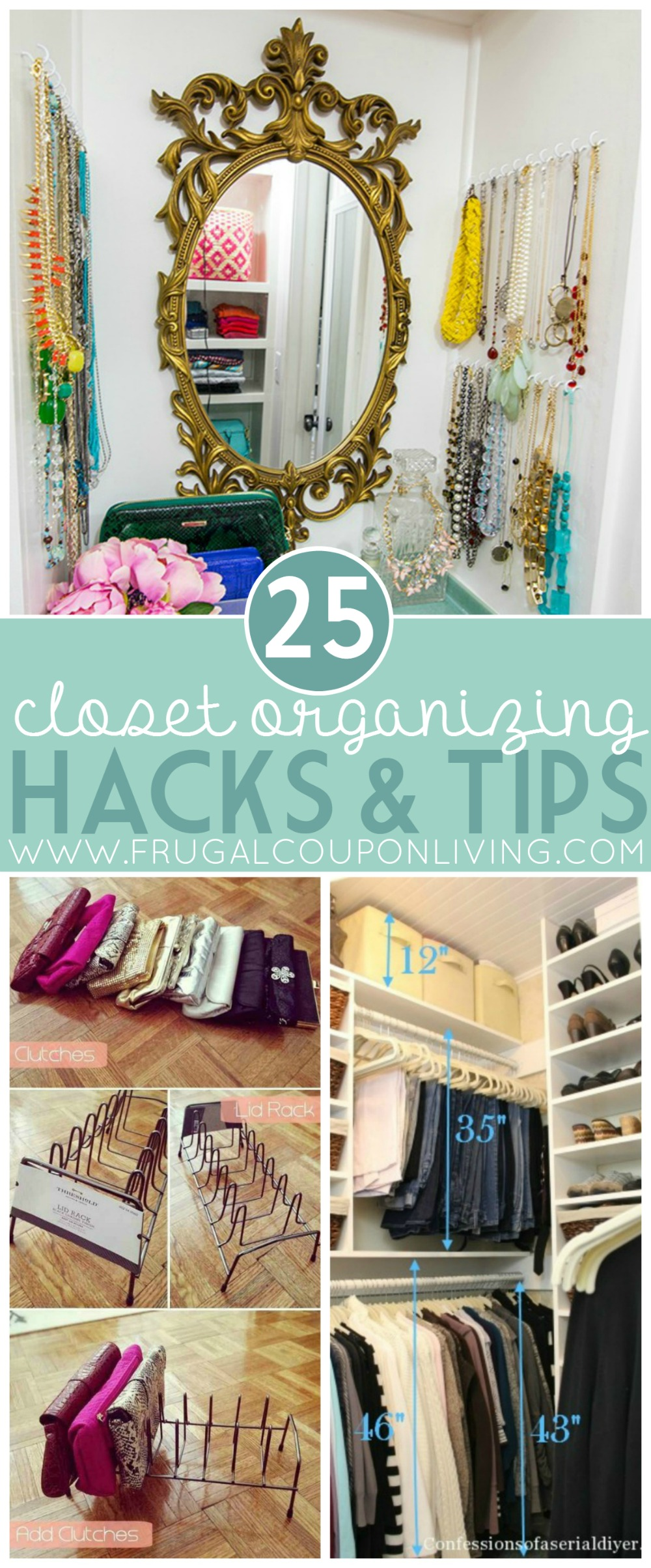 25-Closet-organizing-hacks-tips-frugal-coupon-living