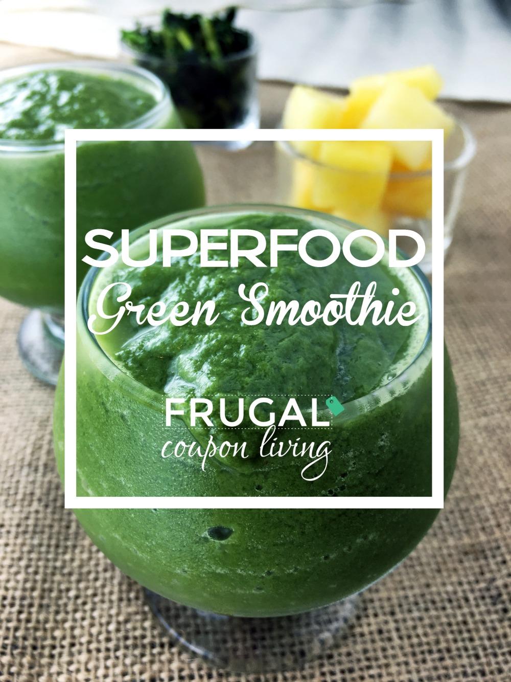 Superfood-green-Smoothie-frugal-coupon-living-framed