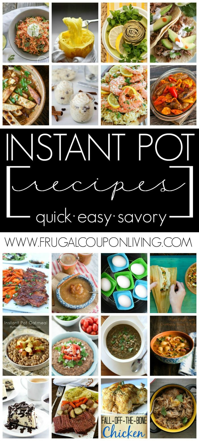 Instant Pot Recipe Ideas
