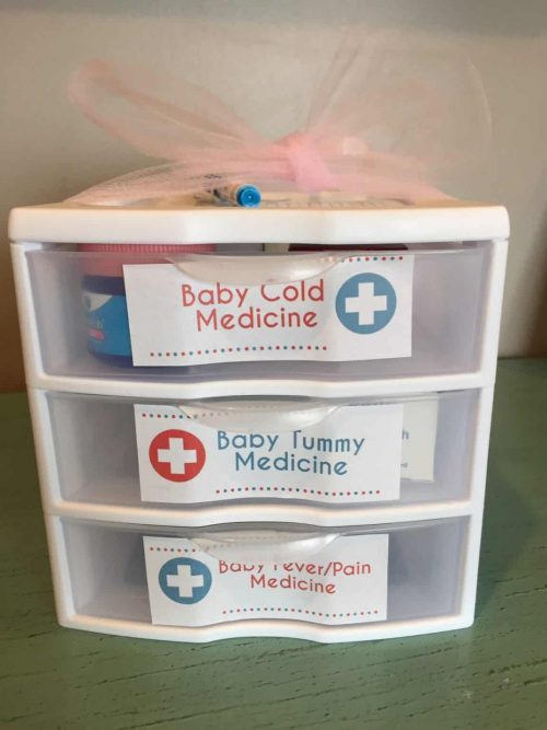 How to make a baby medicine Cabinet
