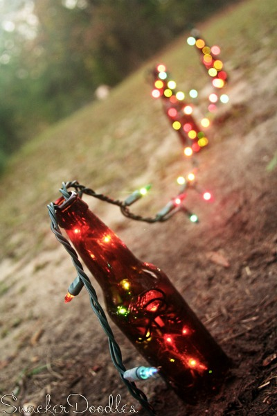 Beer Bottle Christmas Lights1