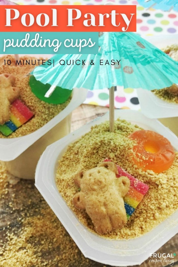 Easy pool party snack for kids