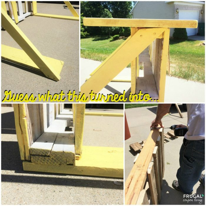 Upcycled Pallet Lemonade Stand Tutorial