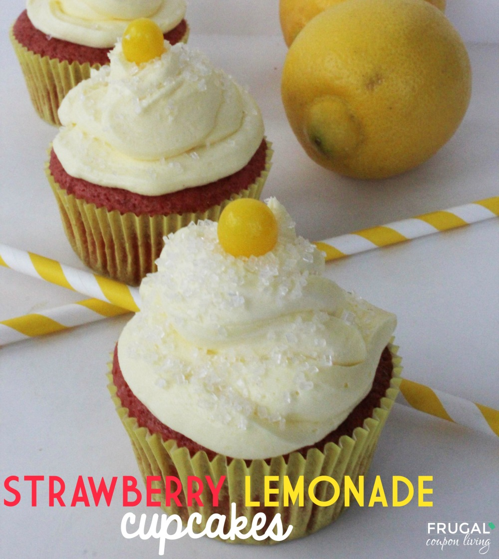 strawberry-lemonade-cupcakes-frugal-coupon-living