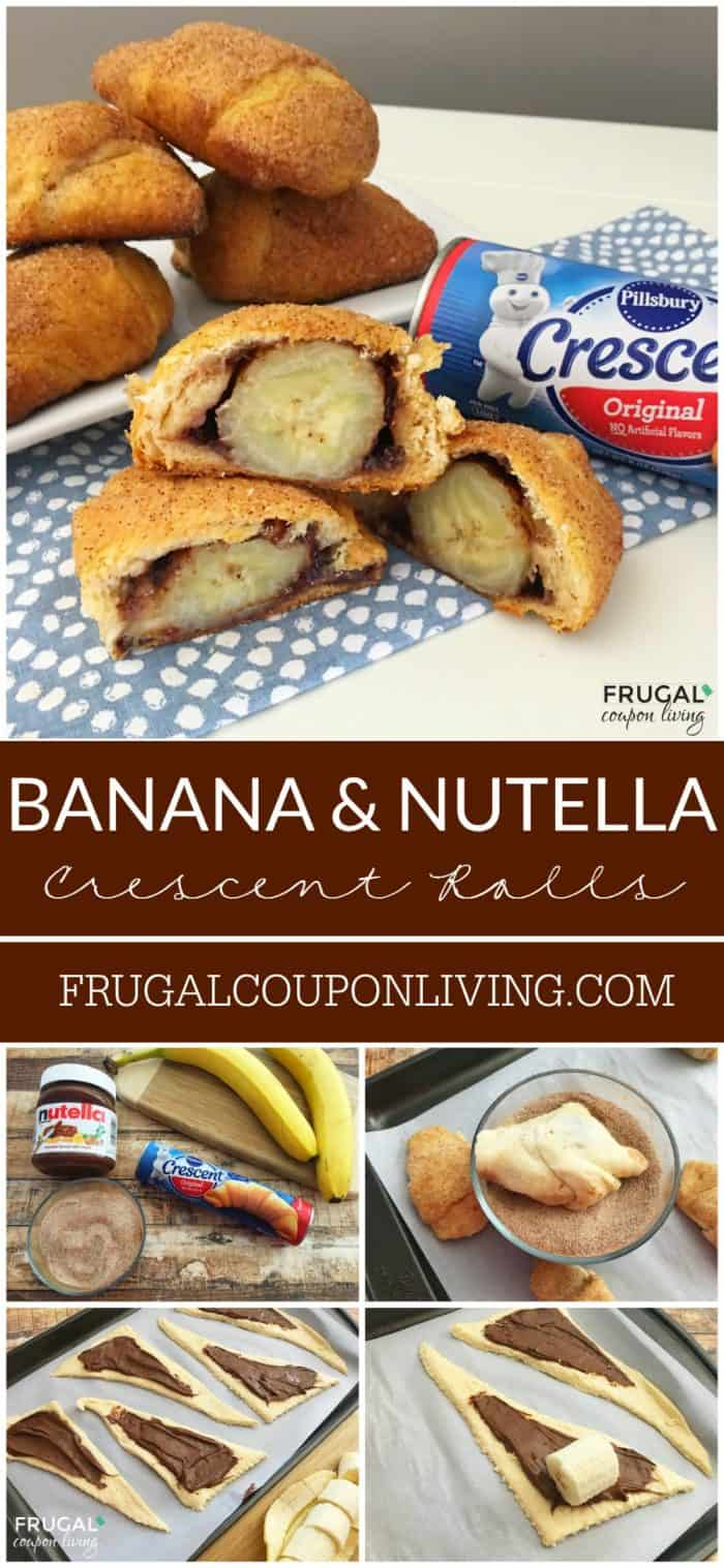 Banana-Nutella-Stuffed-Crescent-Rolls-collage-frugal-coupon-living
