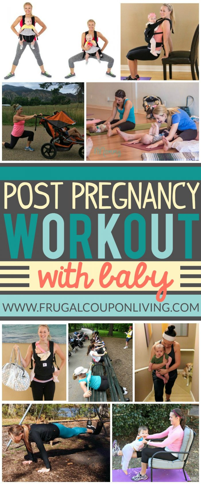Home-Workout-Hacks-with-Baby-collage-frugal-coupon-living