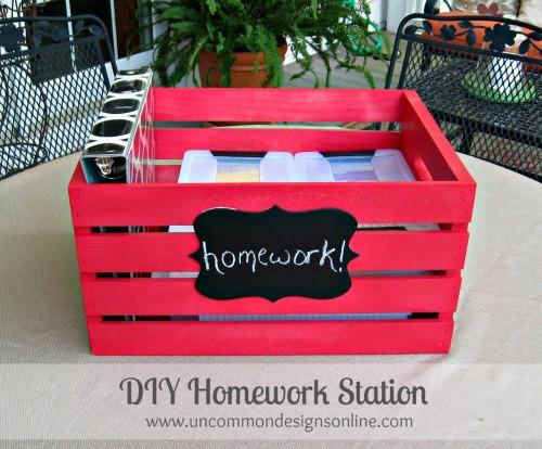 Homework Station - uncommon Designs