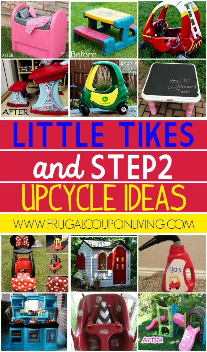 Little Tikes and Step2 Upcycle Ideas