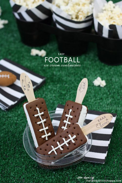 1-Football-Party-ice-cream-sandwiches
