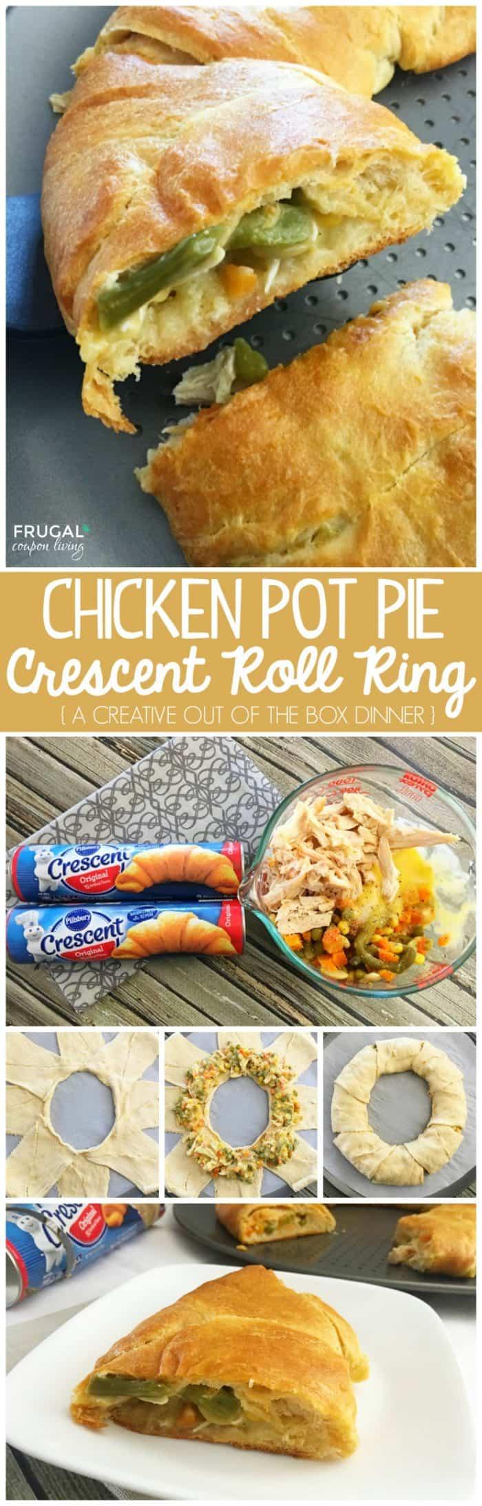 Pillsbury Chicken Pot Pie Crescent Roll Ring
