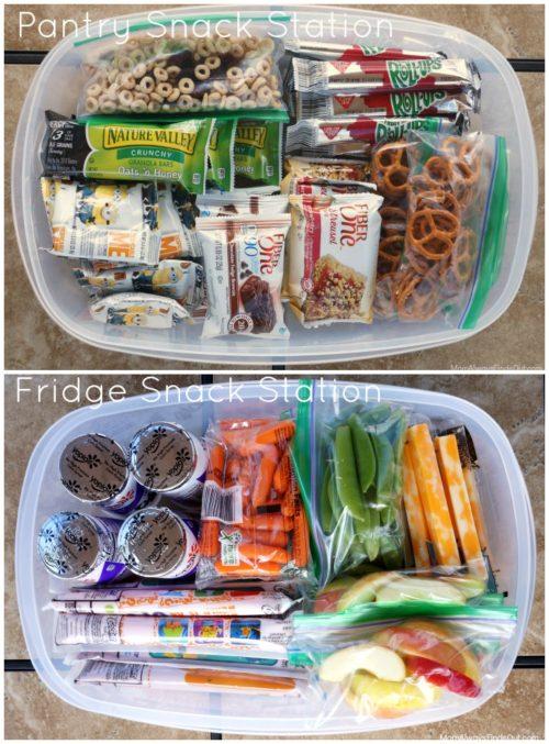 pantry-fridge-snack-station