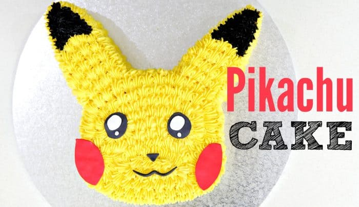 pikachu-pokemon-cake
