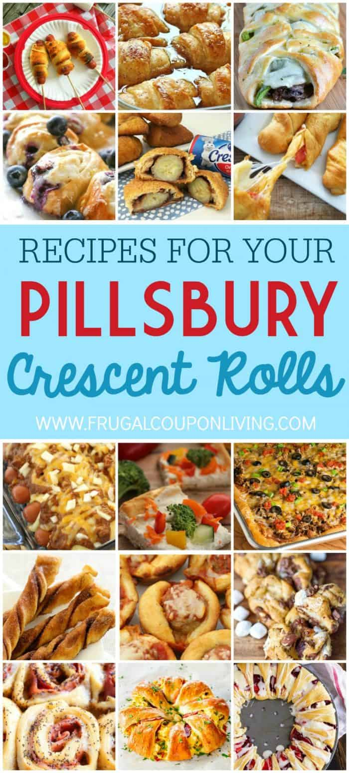 Recipes that use Pillsbury Crescent Rolls on Frugal Coupon Living