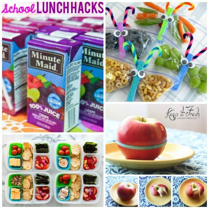 Easy School Lunch Ideas, Tips and Hacks
