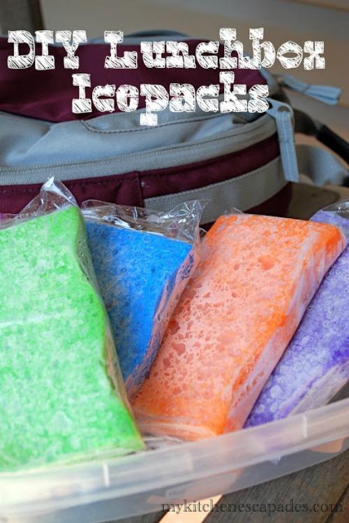 sponges-ice-packs
