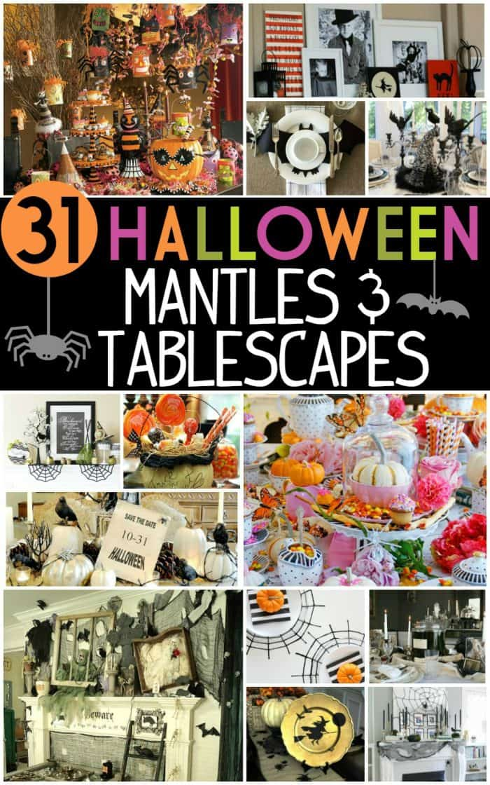 31-Inspiring-Halloween-Mantles-Tablescapes-Collage-frugal-coupon-living