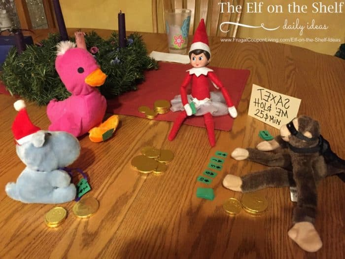 Elf on the Shelf Poker Game & Elf Ideas with Games