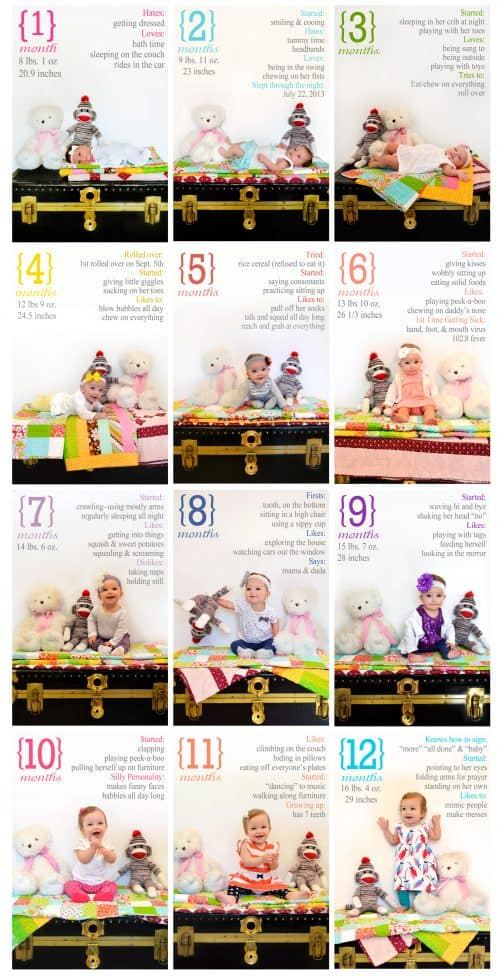 Monthly-Baby-Pictures-for-the-First-Year-colorful