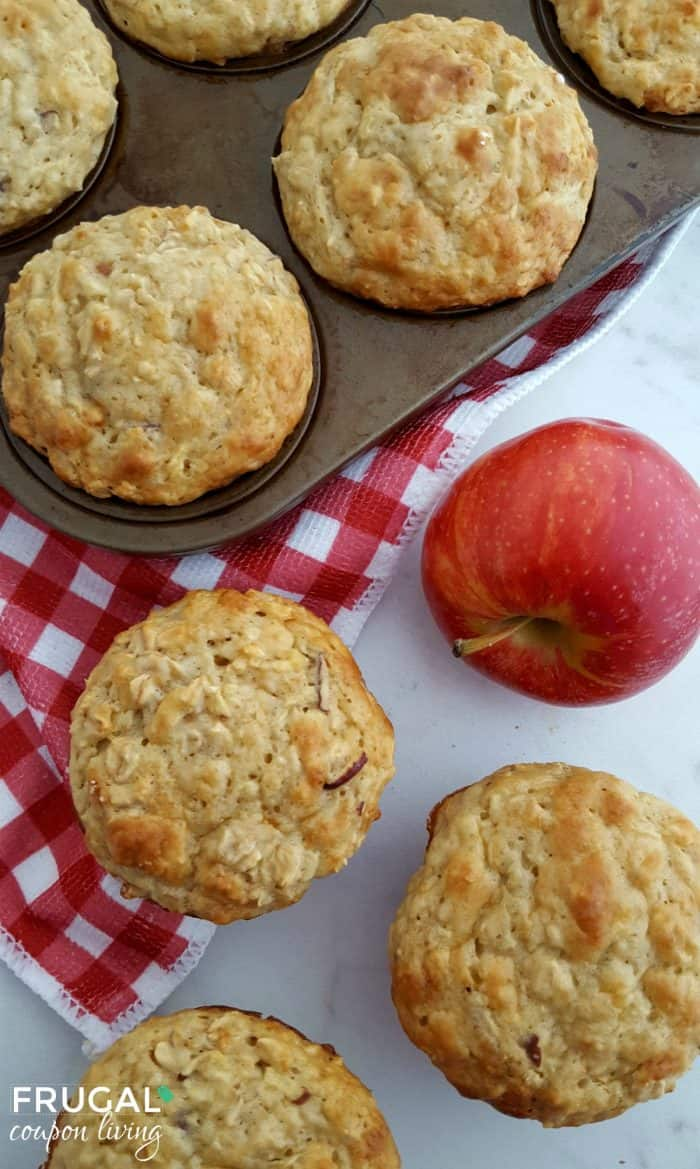 apple-oatmeal-muffins-frugal-coupon-living