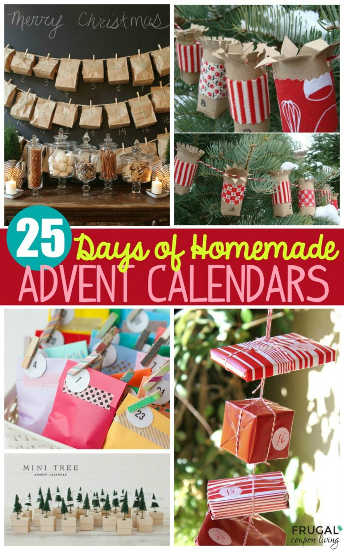 homemade-advent-calendars-collage-short-title-frugal-coupon-living