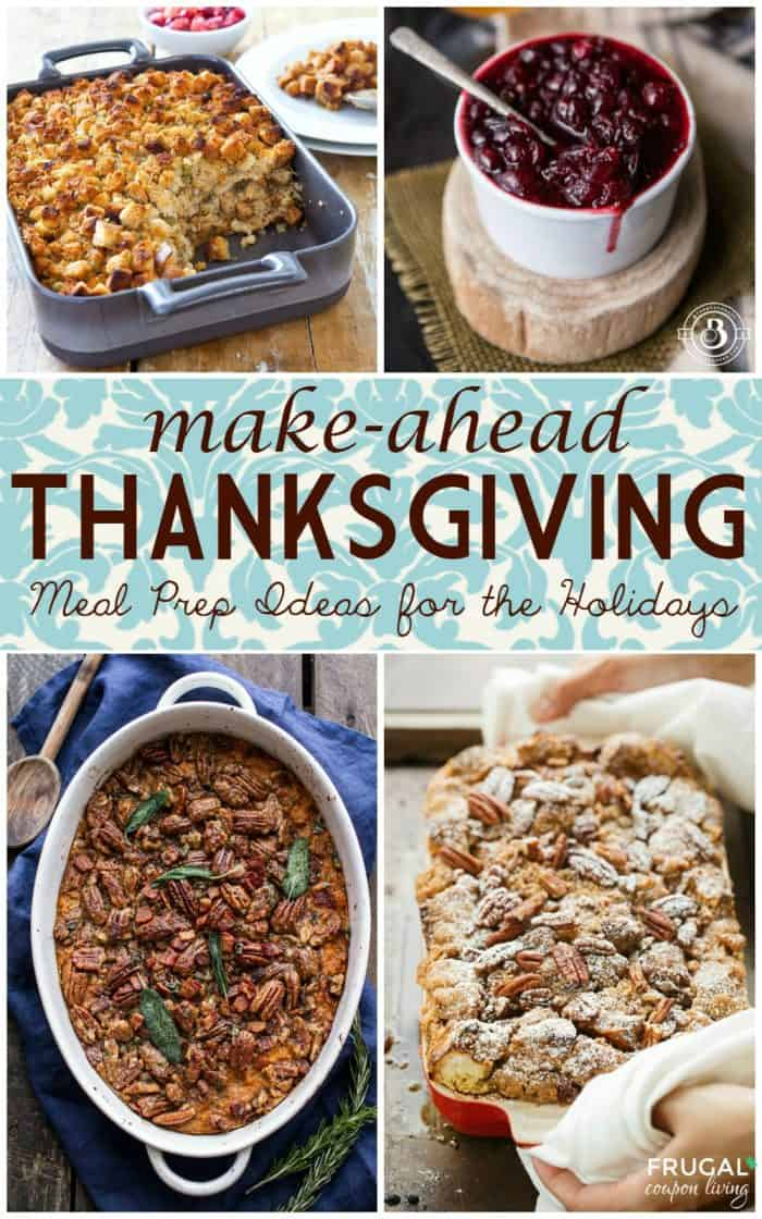 Make-Ahead Thanksgiving Recipes | Meal Prep Ideas for the Holidays