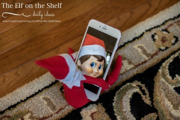 elfie-selfie-elf-on-the-shelf-ideas-frugal-coupon-living