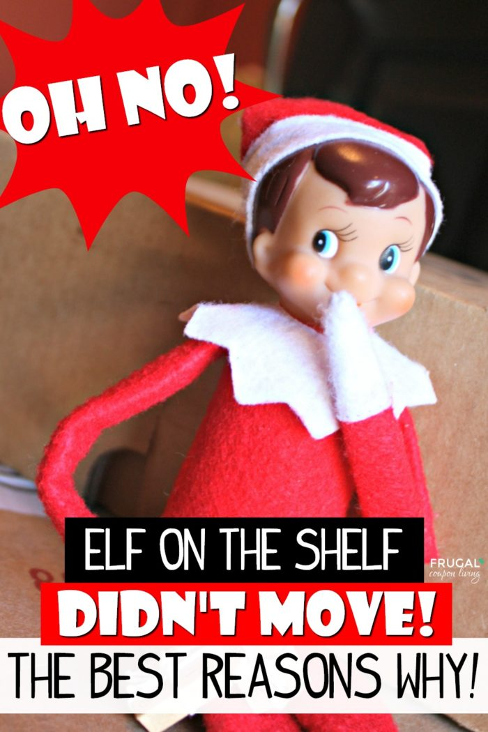 Reasons Elf on the Shelf Didn't Move
