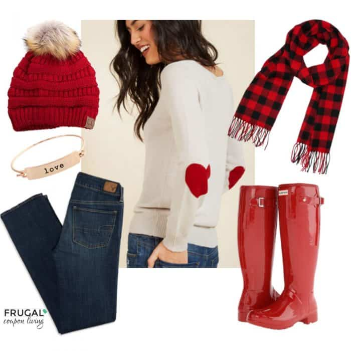 red-hunter-boots-valentines-day-outfit-square-frugal-coupon-living-frugal-fashion-friday