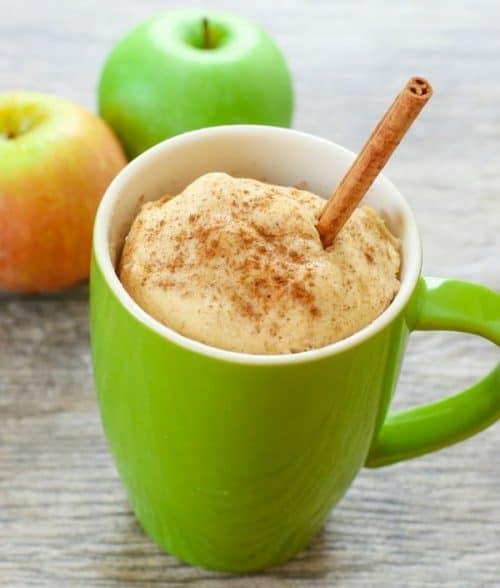 skinny-apple-spice-mug-cake