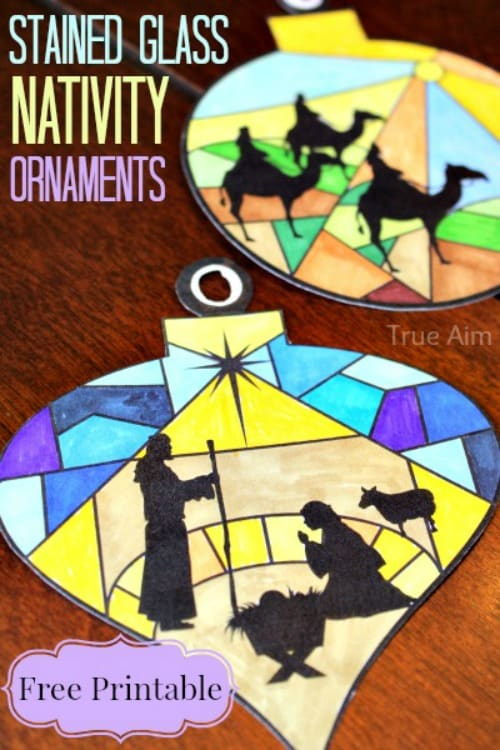 stained-glass-nativity-ornaments-printables