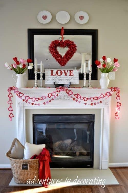 valentine-mantel