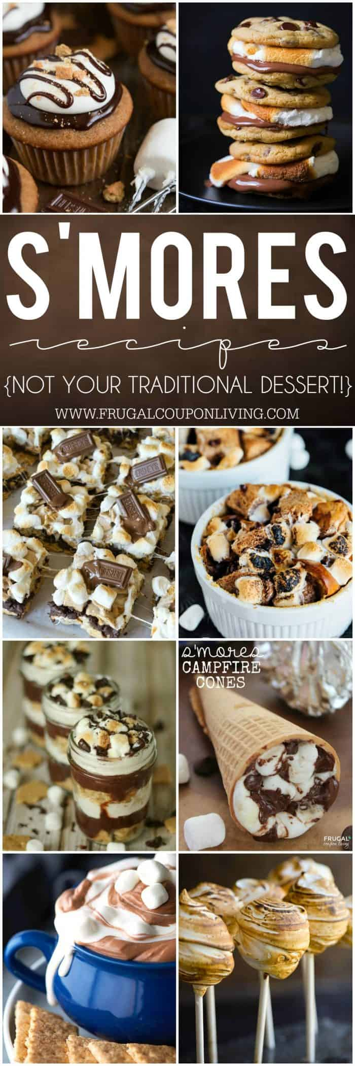 smores-recipes-collage-frugal-coupon-living-long