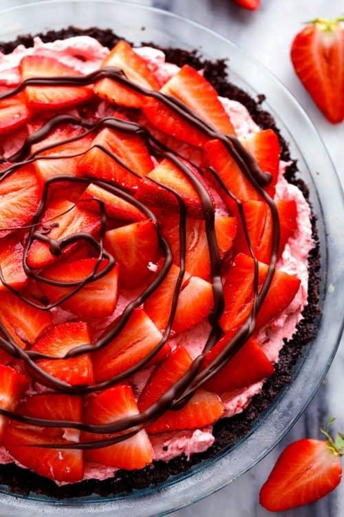 strawberrypie-no-bake