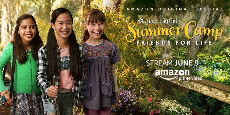 An American Girl Story: Summer Camp, Friends For Life Movie